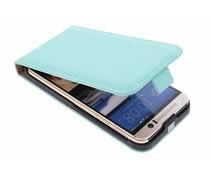 Selencia Luxe Flipcase HTC One M9 - Mintgroen