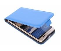 Selencia Luxe Flipcase HTC One M9 - Blauw