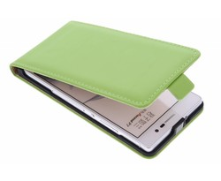 Selencia Luxe Flipcase Huawei Ascend P7 - Groen