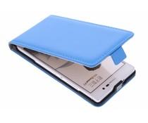 Selencia Luxe Flipcase Huawei Ascend P7 - Blauw