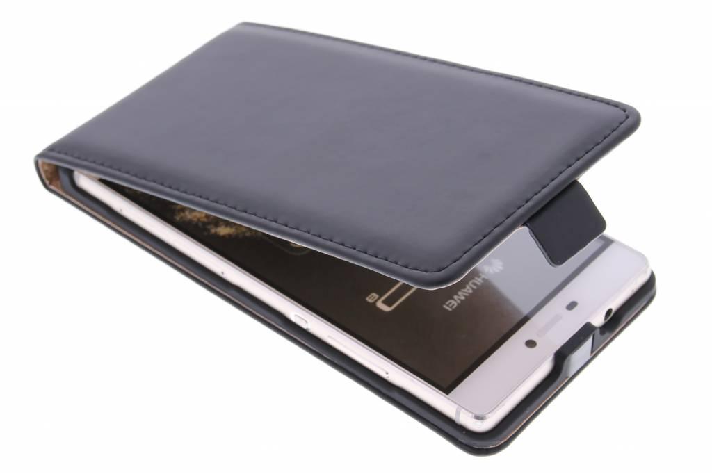 Selencia Luxe Flipcse voor de Huawei P8 - Zwart