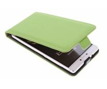 Selencia Luxe Flipcase Huawei P8 - Groen