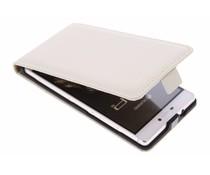 Selencia Luxe Flipcase Huawei P8 - Gebroken Wit
