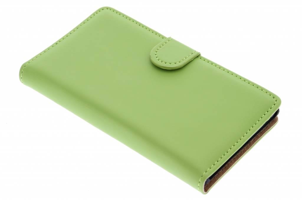 Selencia Luxe Book Case voor de Huawei Ascend G6 - Groen