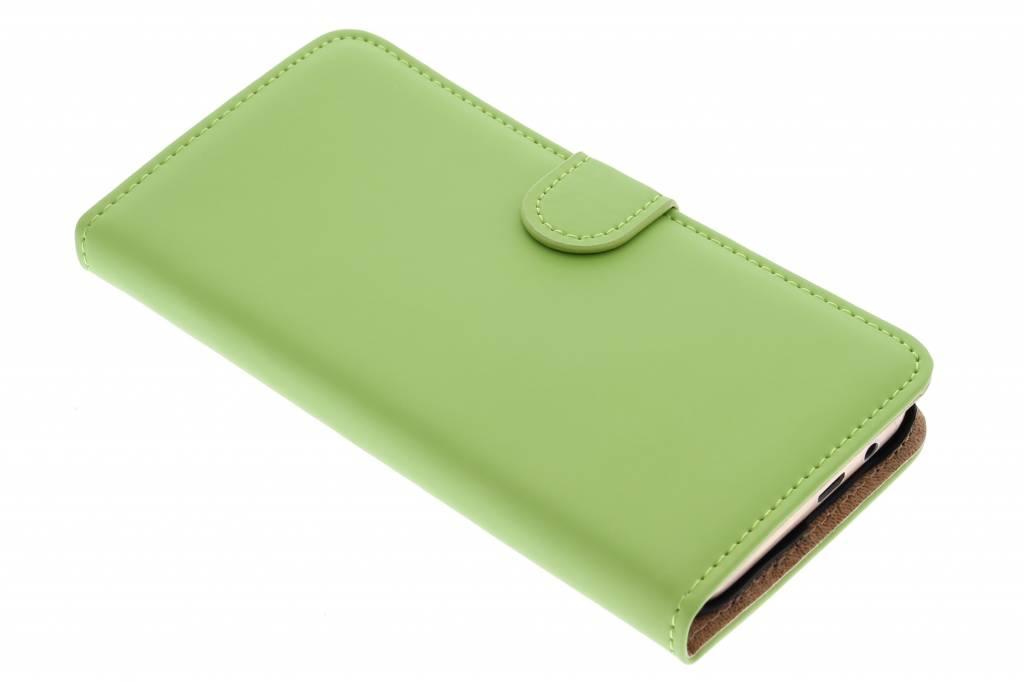 Selencia Luxe Book Case voor de HTC One M9 - Groen