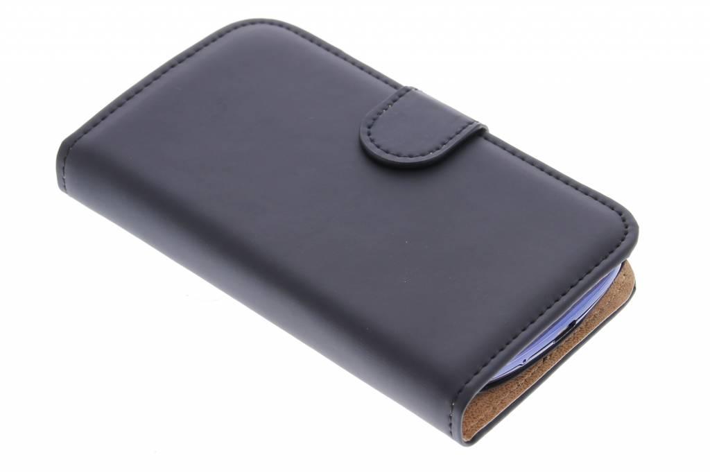 Selencia Luxe Book Case Samsung Galaxy S3 Mini - Zwart