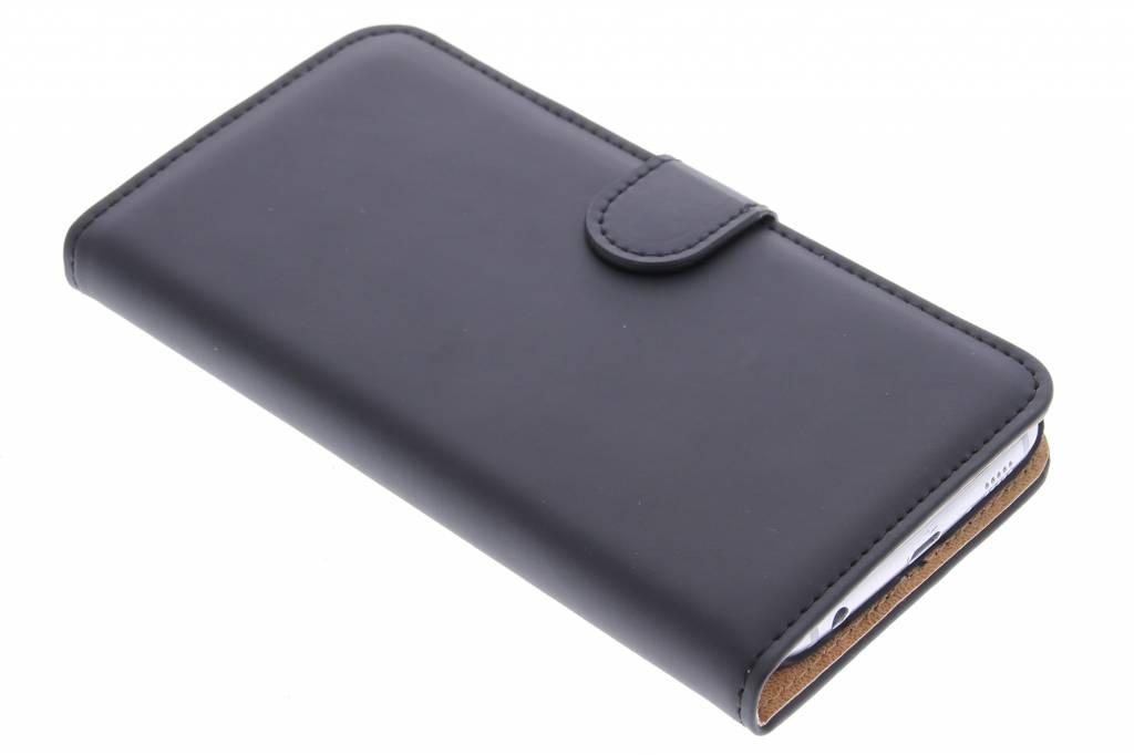 Selencia Zwarte luxe Book Case voor de Samsung Galaxy S6