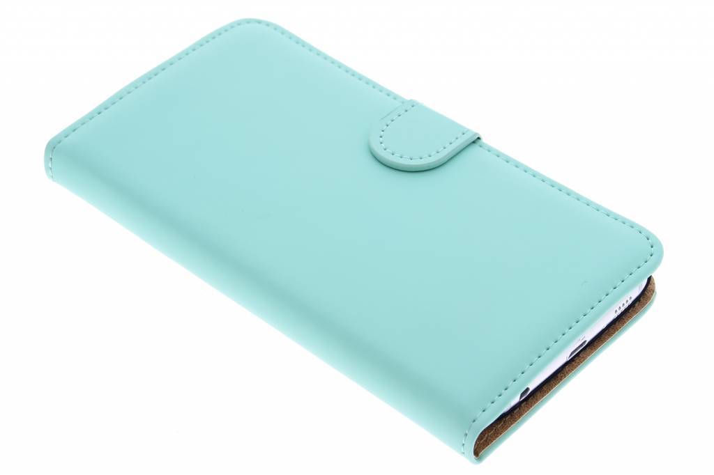 Selencia Luxe Book Case voor de Samsung Galaxy S6 - Mintgroen