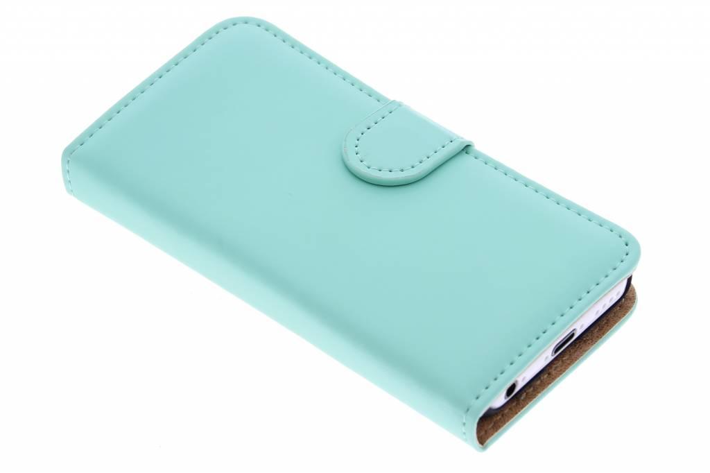 Selencia Luxe Book Case voor de iPhone 5c - Mintgroen