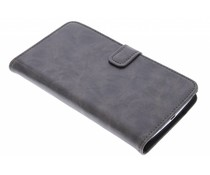 Luxe leder booktype hoes Nexus 6