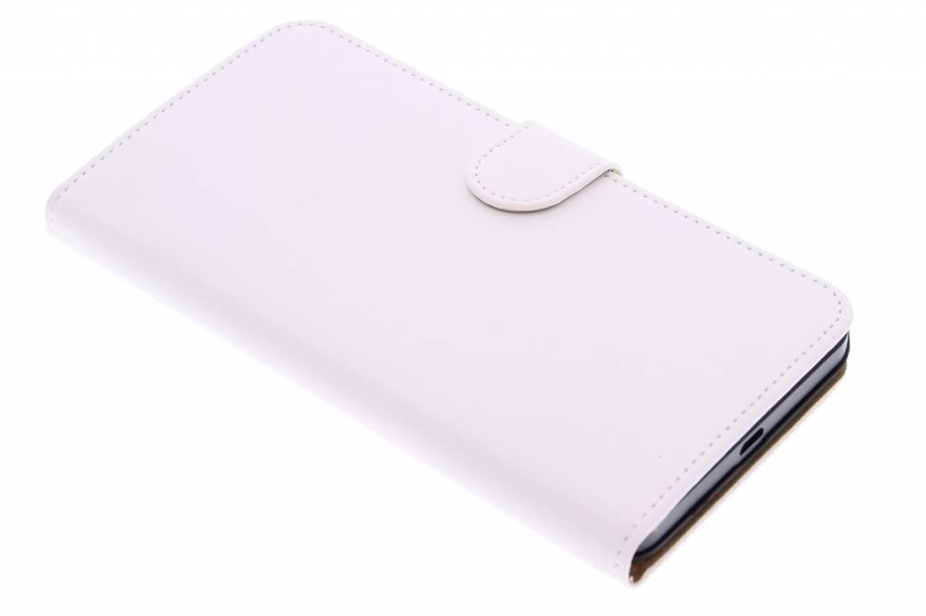 Witte effen booktype hoes voor de Microsoft Lumia 640 XL