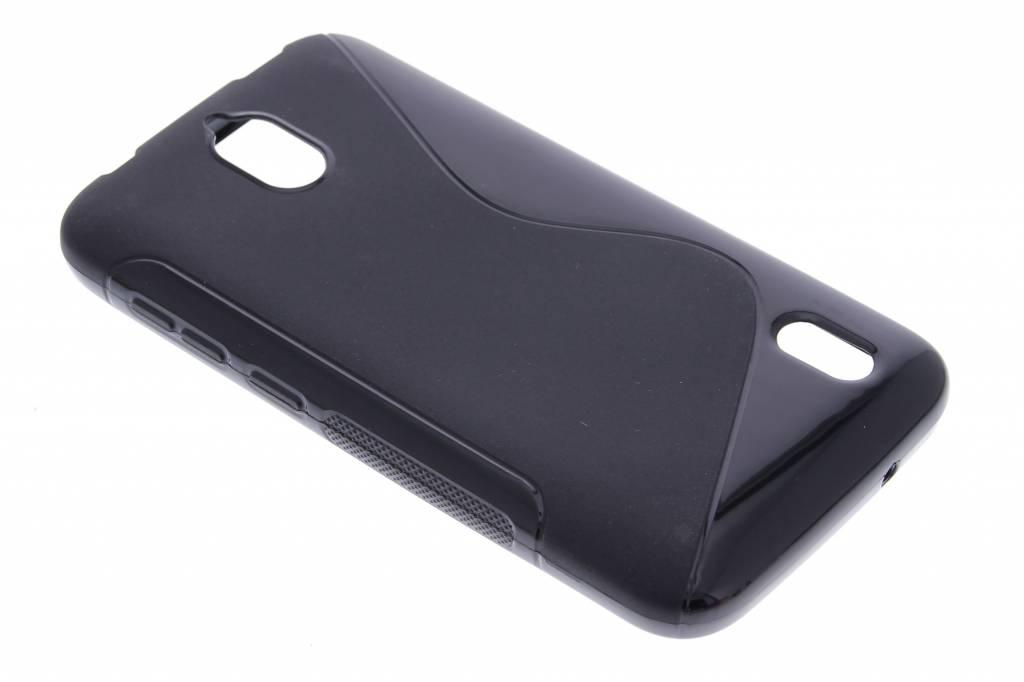 Zwart S-line TPU hoesje voor de Huawei Y625