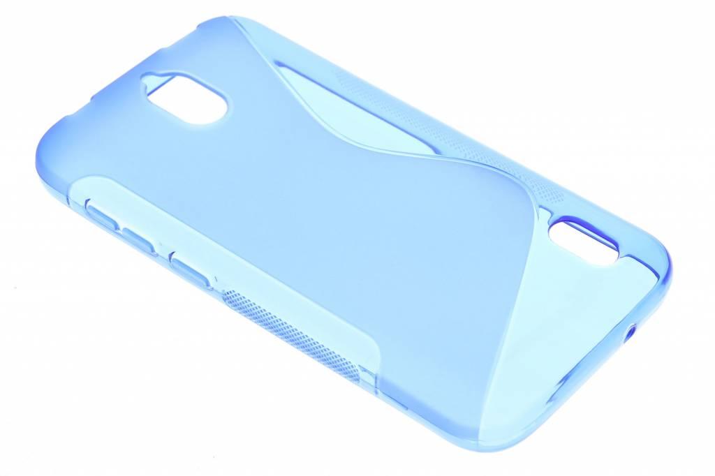 Blauw S-line TPU hoesje voor de Huawei Y625