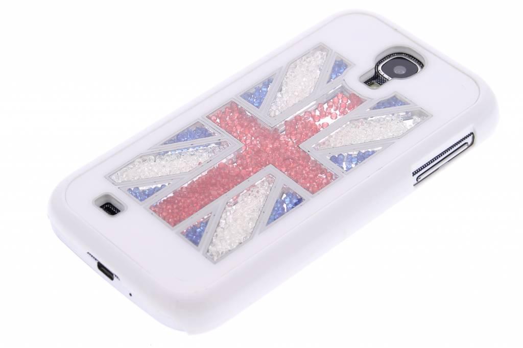 Drapeau Britannique Strass Couleur Couverture Étui Rigide Pour Samsung Galaxy S4 kumKddUHC8