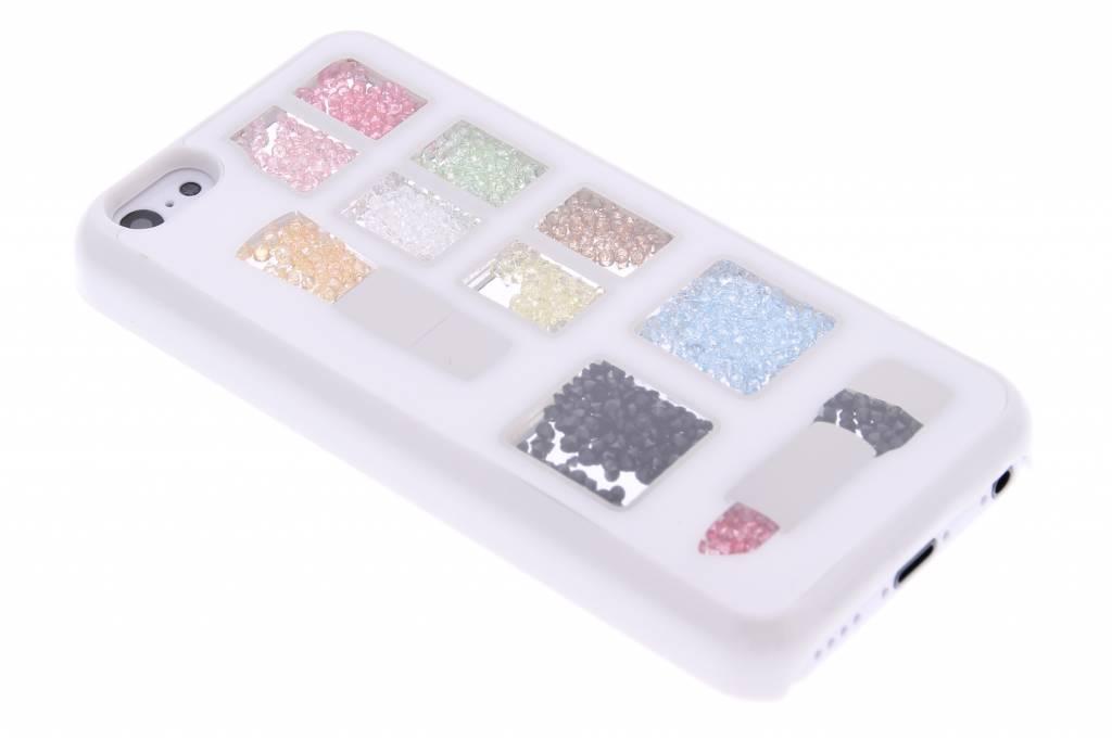 Make-up gekleurde steentjes hardcase voor de iPhone 5c