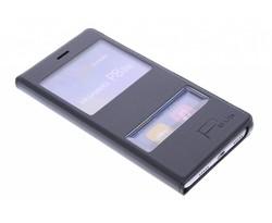 Slim booktype hoes met venster Huawei P8 Lite