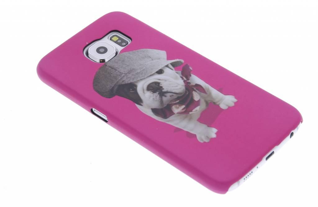 Pug design hardcase hoesje voor de Samsung Galaxy S6