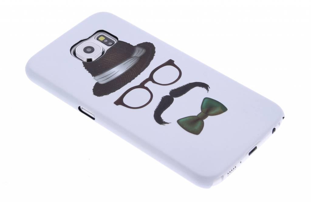 Snor design hardcase hoesje voor de Samsung Galaxy S6