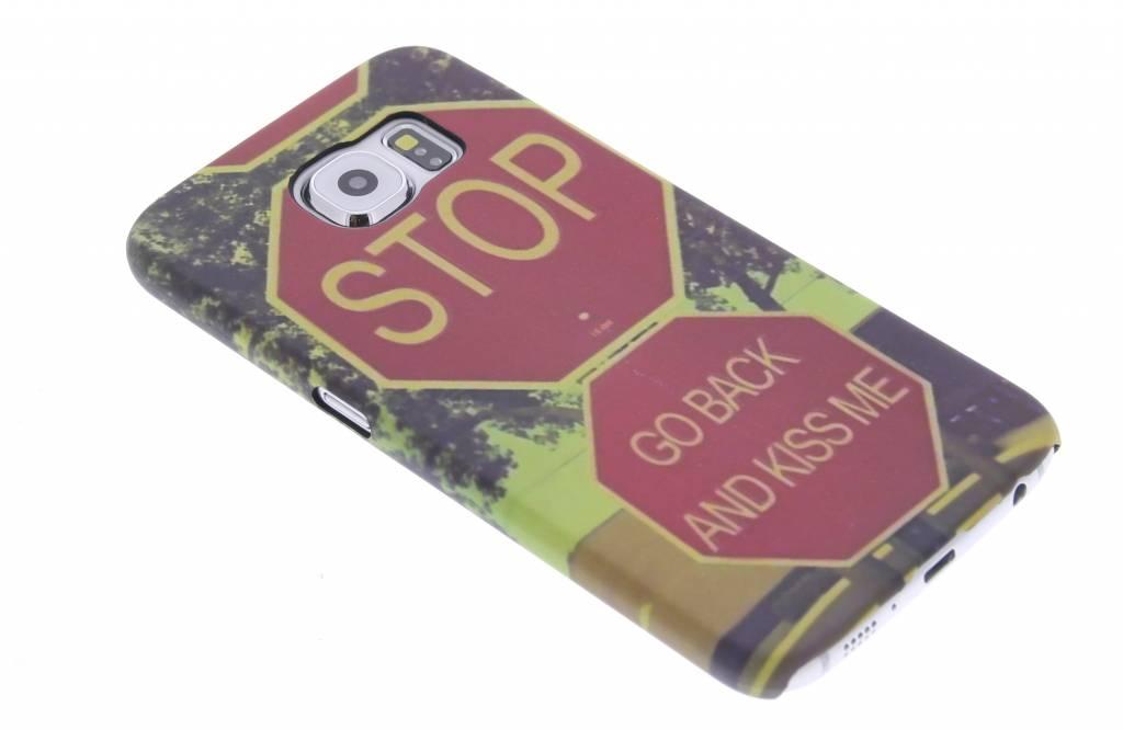 Stop design hardcase hoesje voor de Samsung Galaxy S6