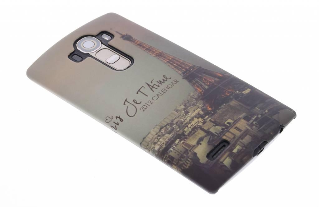 Parijs design hardcase hoesje voor de LG G4