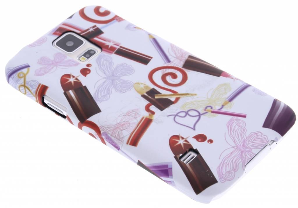 Lipstick design hardcase hoesje voor de Samsung Galaxy S5 (Plus) / Neo