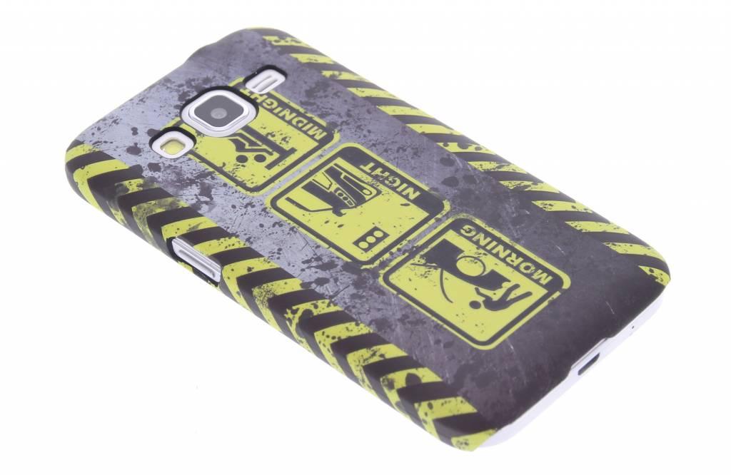 Werk in uitvoering design hardcase hoesje voor de Samsung Galaxy Core Prime