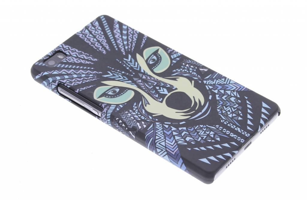 Wolf aztec animal design hardcase hoesje voor de Huawei P8 Lite