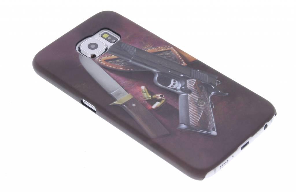 Wapens design hardcase hoesje voor de Samsung Galaxy S6