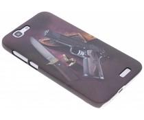 Design hardcase hoesje Huawei Ascend G7