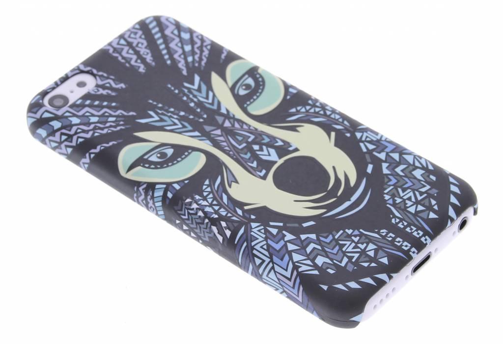 Wolf aztec animal design hardcase hoesje voor de iPhone 5c