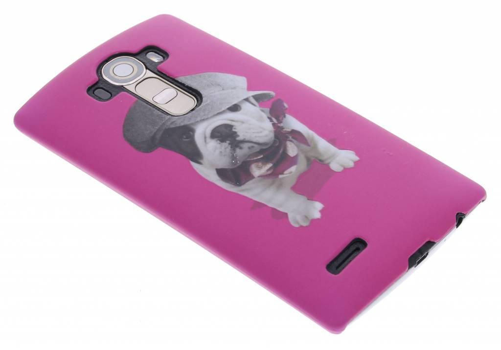 Pug design hardcase hoesje voor de LG G4