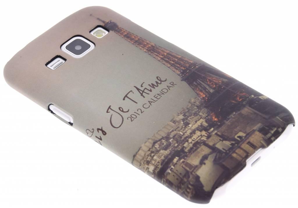 Parijs design hardcase hoesje voor de Samsung Galaxy J1