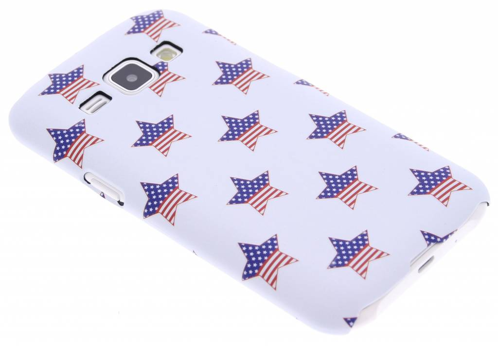 American Star design hardcase hoesje voor de Samsung Galaxy J1