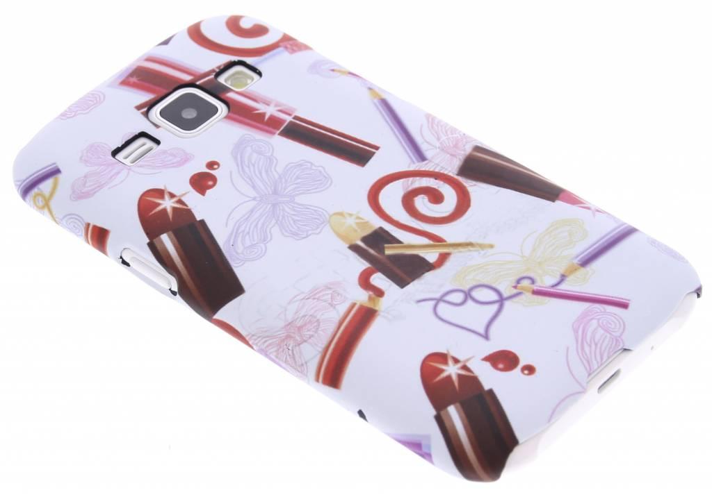 Lipstick design hardcase hoesje voor de Samsung Galaxy J1