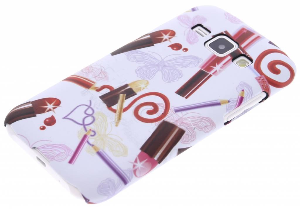 La Conception De Rouge À Lèvres Couverture Étui Rigide Pour Samsung Galaxy S7 WD16B1O