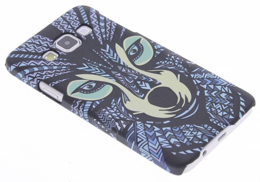 Wolf aztec animal design hardcase hoesje voor de Samsung Galaxy A3