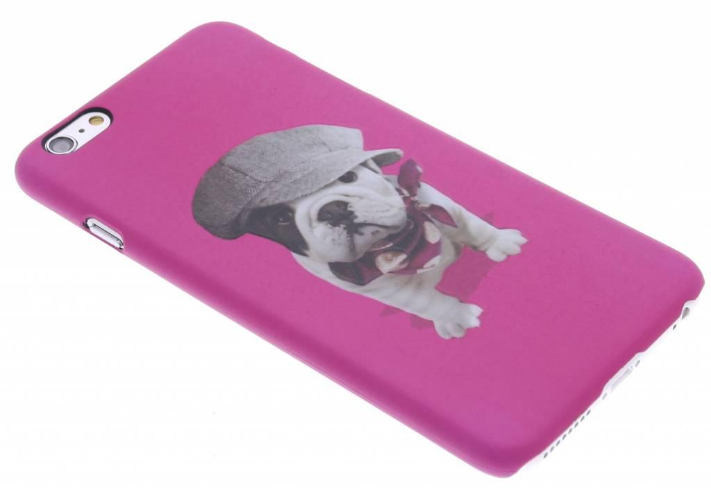 Pug design hardcase hoesje voor de iPhone 6(s) Plus