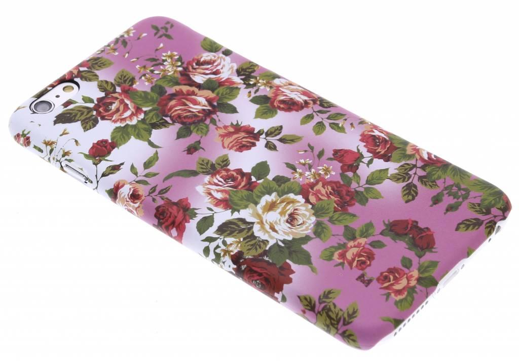 Bloemen design hardcase hoesje voor de iPhone 6(s) Plus
