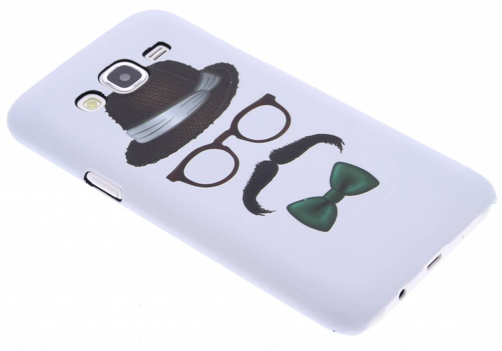Snor design hardcase hoesje voor de Samsung Galaxy J5