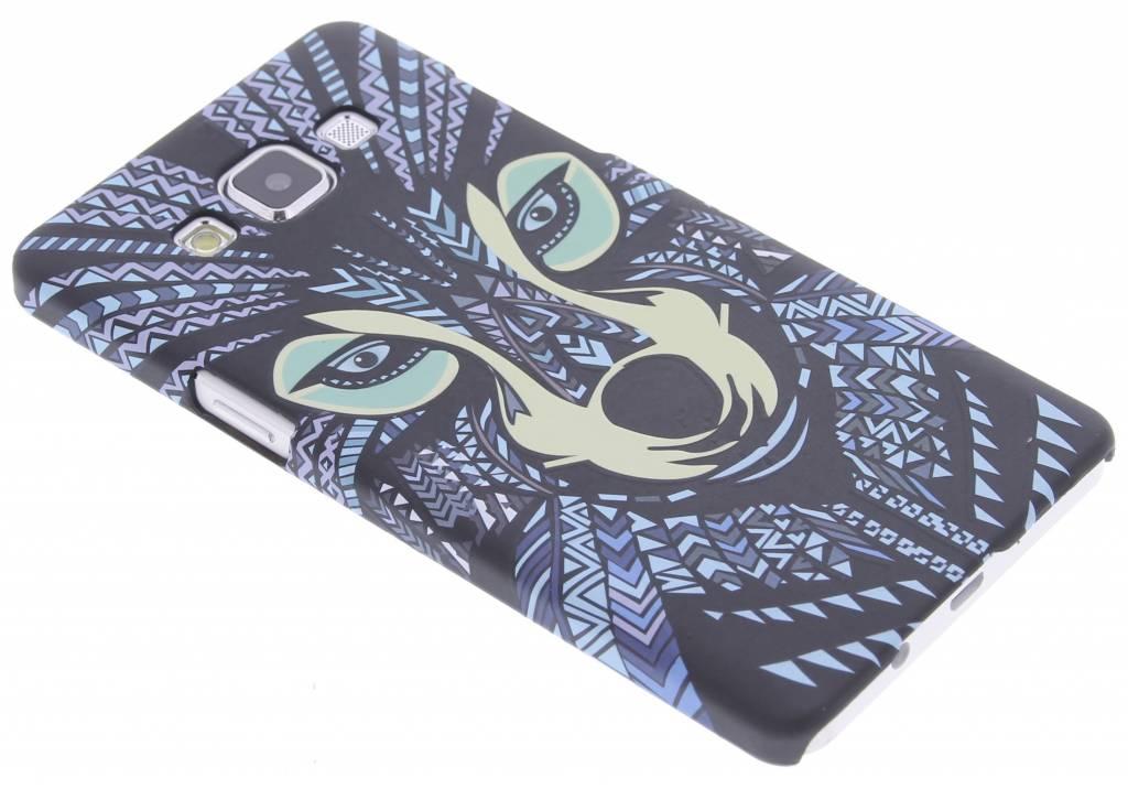 Wolf aztec animal design hardcase hoesje voor de Samsung Galaxy A5