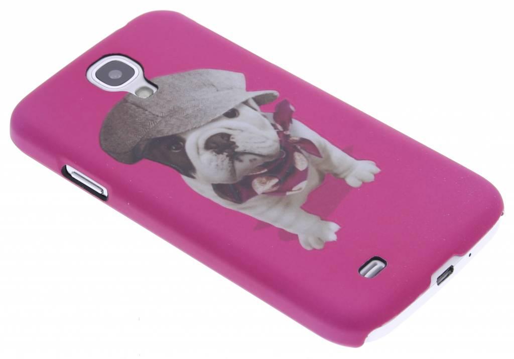 Pug design hardcase hoesje voor de Samsung Galaxy S4