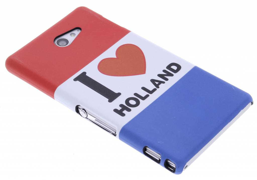 Holland design hardcase hoesje voor de Sony Xperia M2 (Aqua)