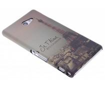 Design hardcase hoesje Sony Xperia M2 (Aqua)