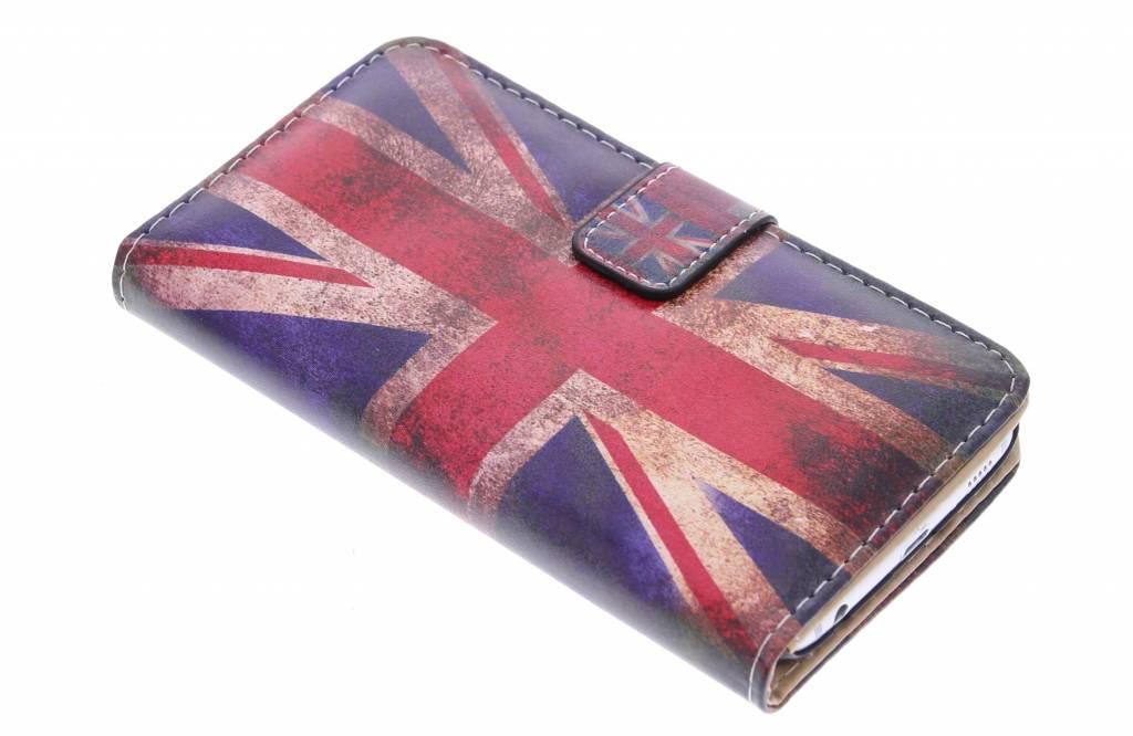 Britse vlag design booktype hoes voor de Samsung Galaxy S6