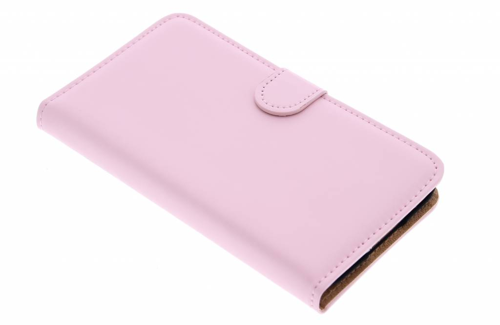 Selencia Luxe Book Case voor de Samsung Galaxy S5 (Plus) / Neo - Poederroze