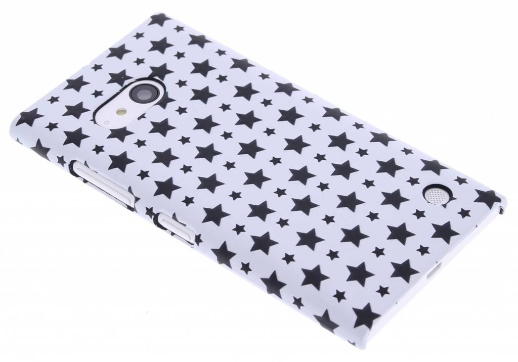 Wit sterren design hardcase hoesje voor de Nokia Lumia 735-730