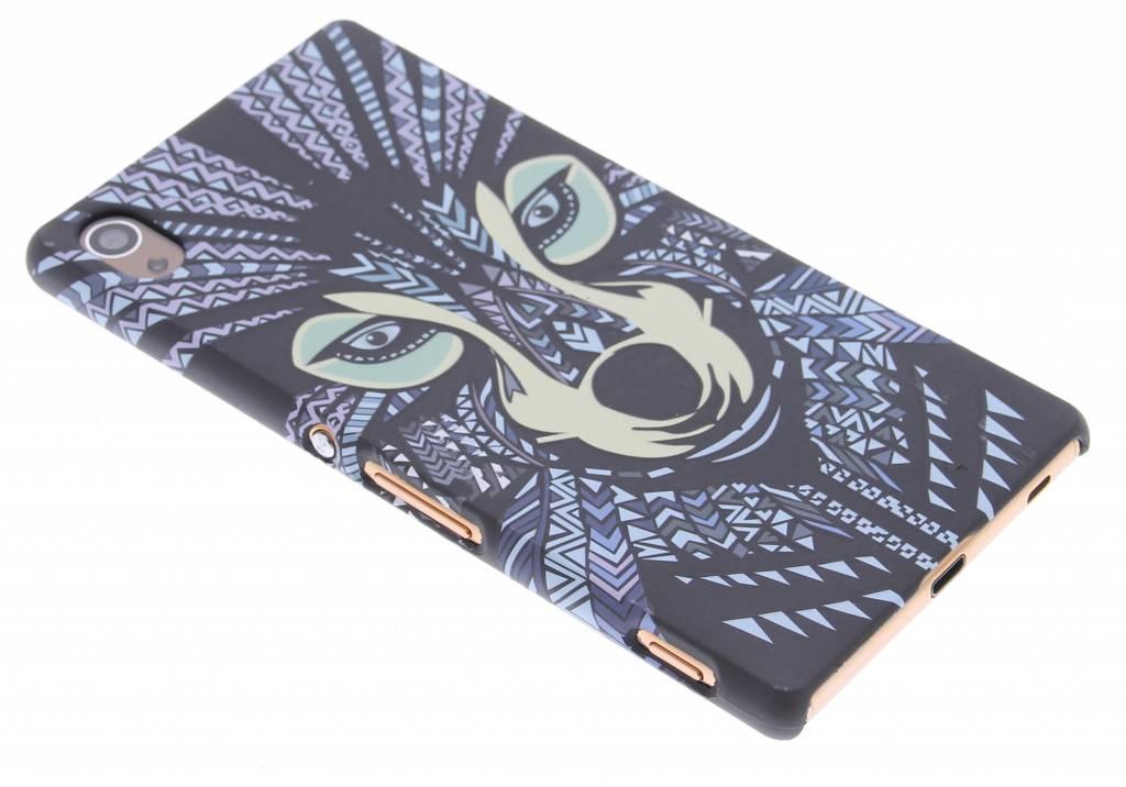Wolf aztec animal design hardcase hoesje voor de Sony Xperia Z3 Plus