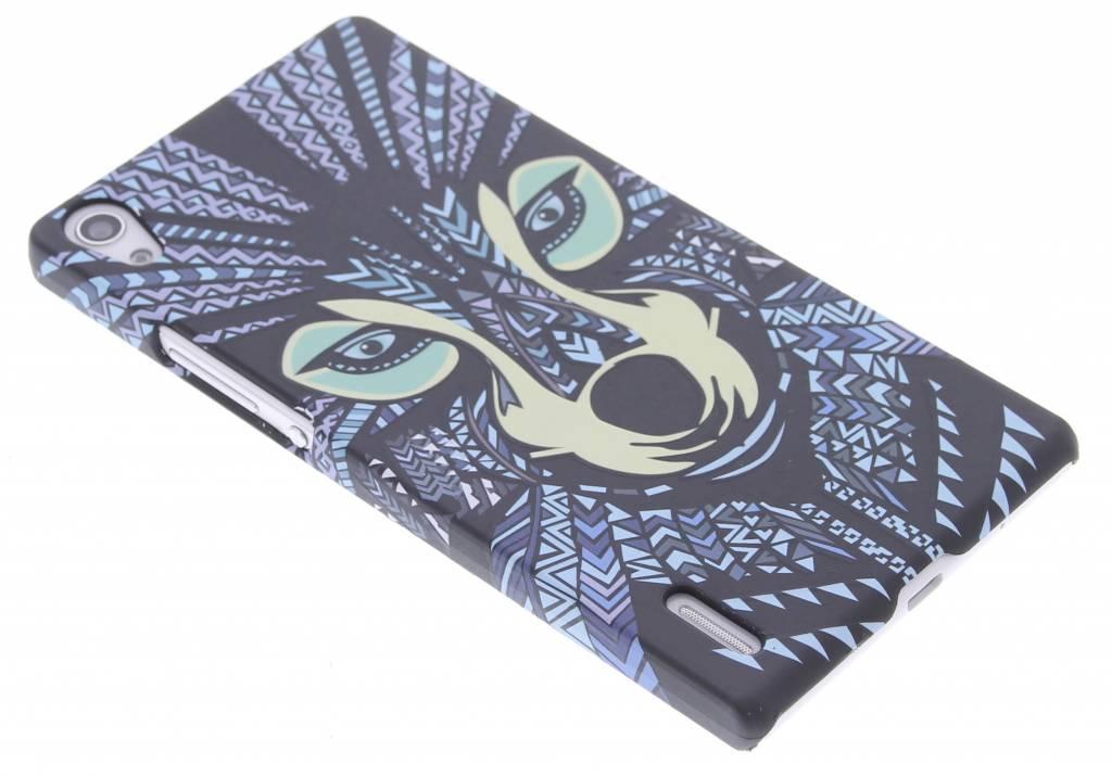 Wolf aztec animal design hardcase hoesje voor de Huawei Ascend P7