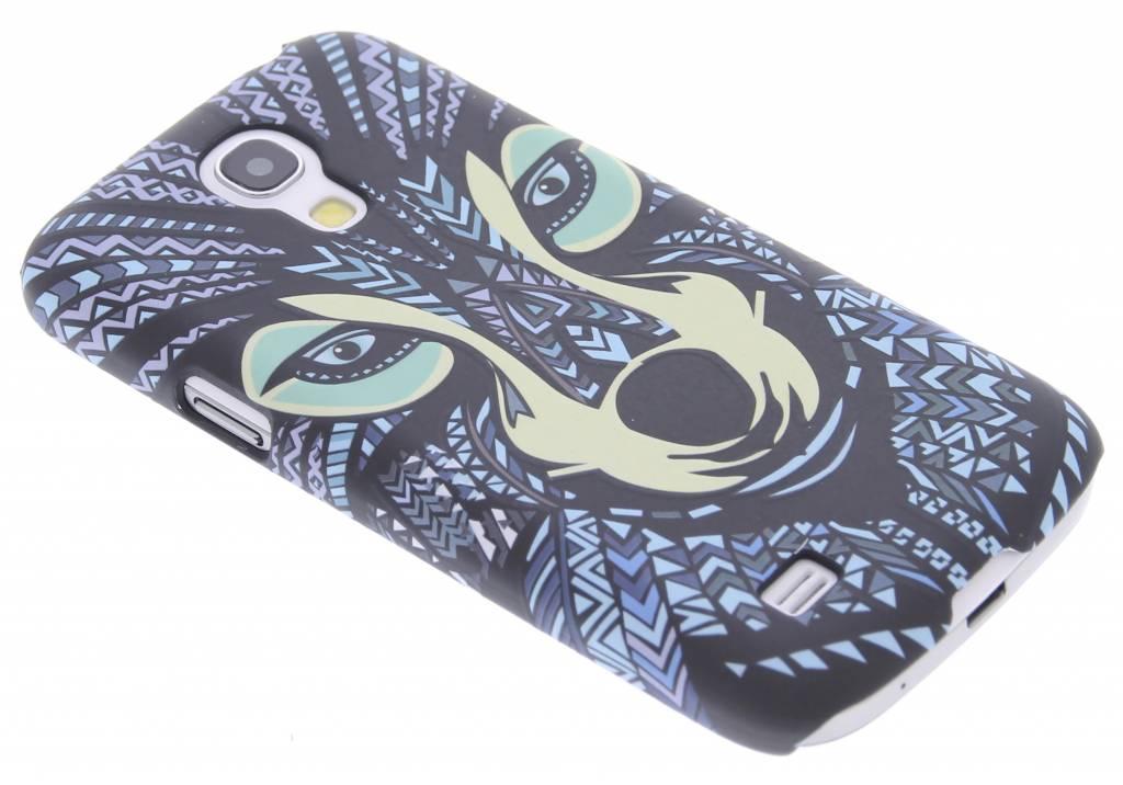 Wolf aztec animal design hardcase hoesje voor de Samsung Galaxy S4 Mini