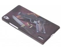 Design hardcase hoesje Huawei Ascend P7